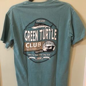 Comfort Colors Shirts - Green Turtle Club Comfort Colors T-shirt